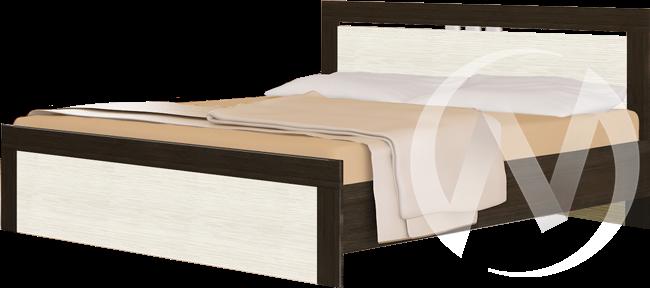 Токио Кровать 1,4  (венге-бодега)  в Томске — интернет магазин МИРА-мебель