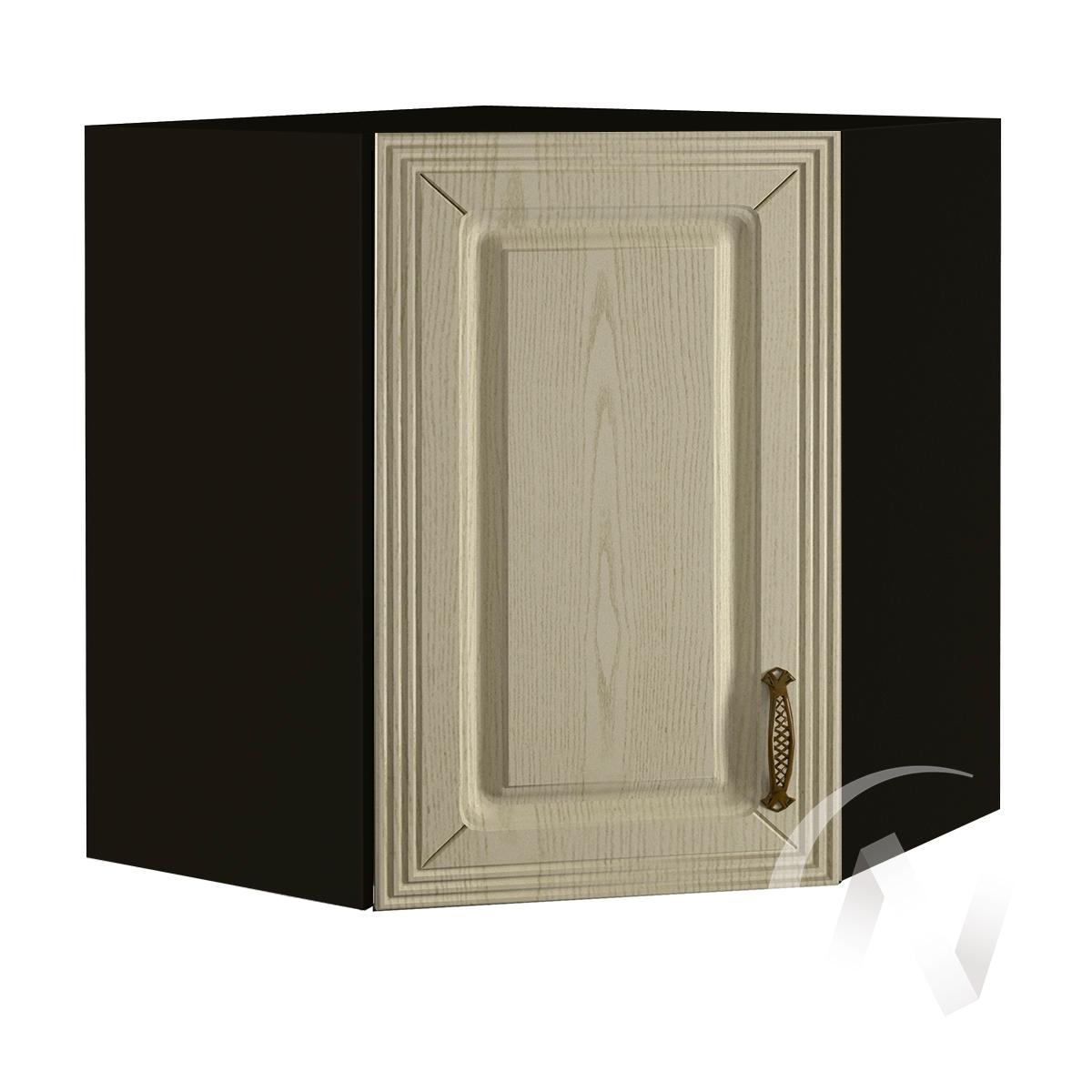 """Кухня """"Изабель"""": Шкаф верхний угловой 590, ШВУ 590 (корпус венге)"""