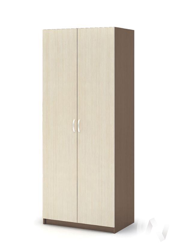 Шкаф полки ШК 555 Спальня Бася (шимо темный/шимо светлый)