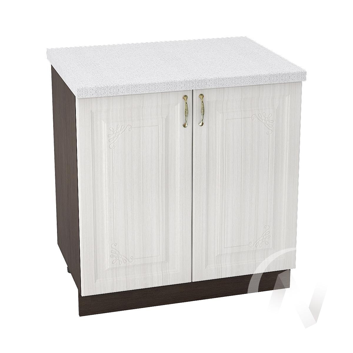 "Кухня ""Виктория"": Шкаф нижний 800, ШН 800 (корпус венге)"