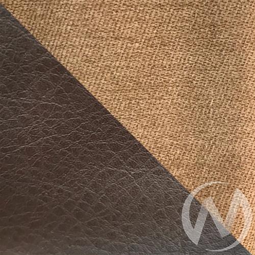 Диван Юпитер угловой (Lama №4/Lama №4/Antey каштан)  в Томске — интернет магазин МИРА-мебель