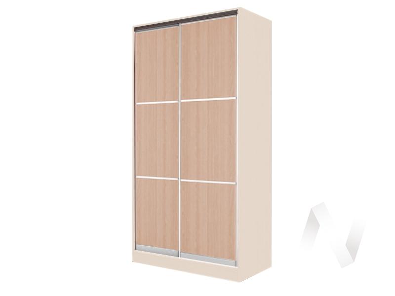 Шкаф-купе «Жаклин» 2-х дверный тройной ЛДСП (дуб сонома/дуб мл.)  в Томске — интернет магазин МИРА-мебель