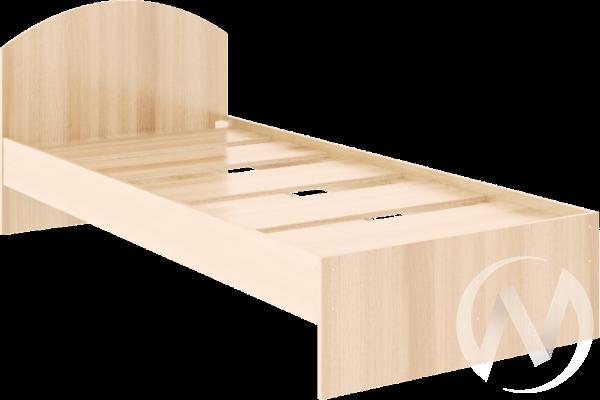 Кровать Веста 0,9х2,0 (дуб млечный)