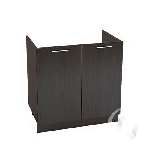 "Кухня ""Валерия-М"": Шкаф нижний под мойку 800, ШНМ 800 (венге/корпус венге)"