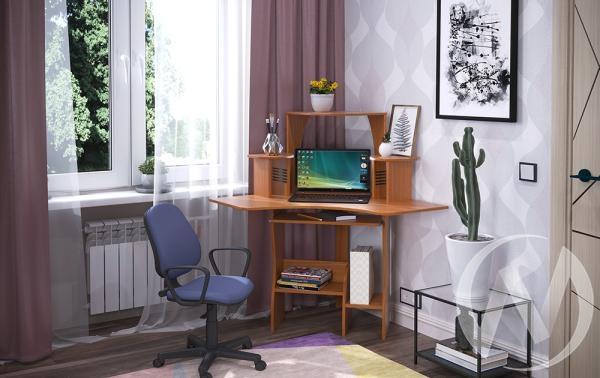 Компьютерный стол СК-17 (миланский орех)