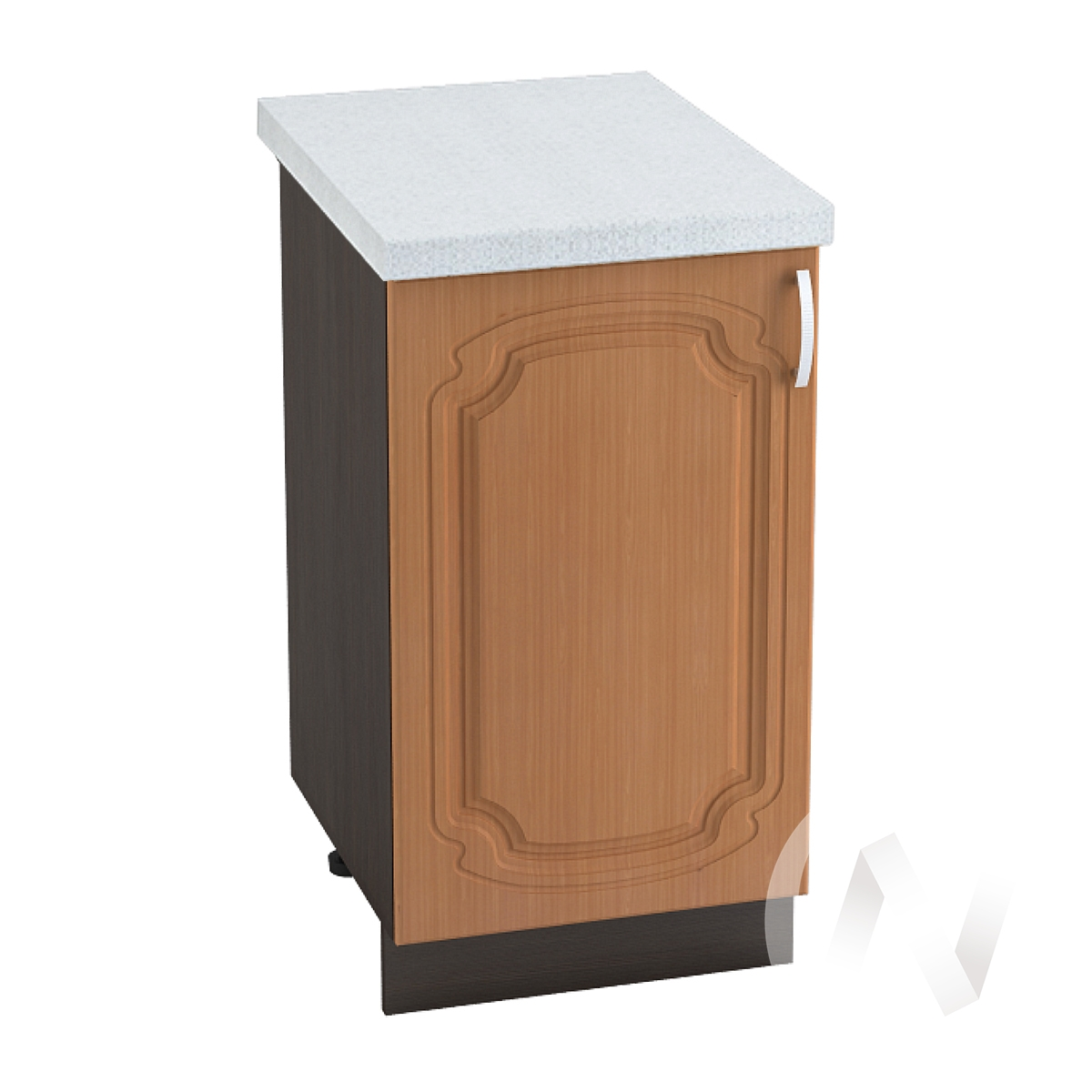 "Кухня ""Настя"": Шкаф нижний 450, ШН 450 (Орех миланский/корпус венге)"