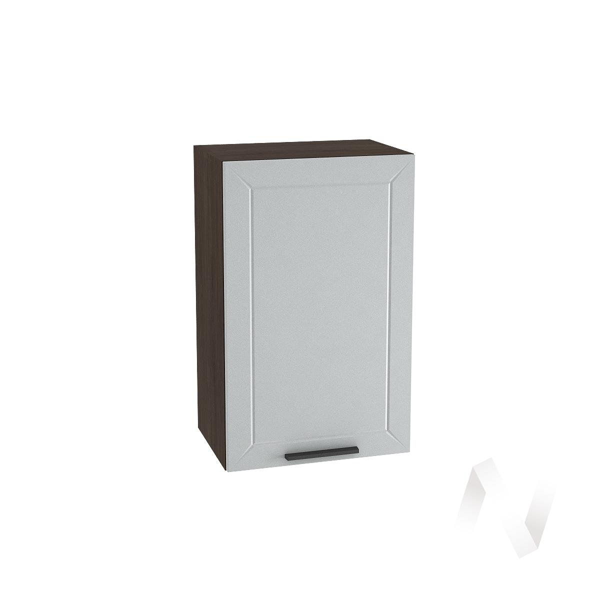 """Кухня """"Глетчер"""": Шкаф верхний 450, ШВ 450 (Гейнсборо Силк/корпус венге)"""