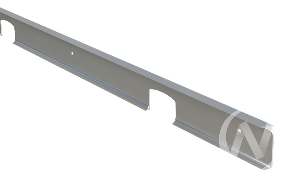 Планка соединительная угловая матовая 40мм
