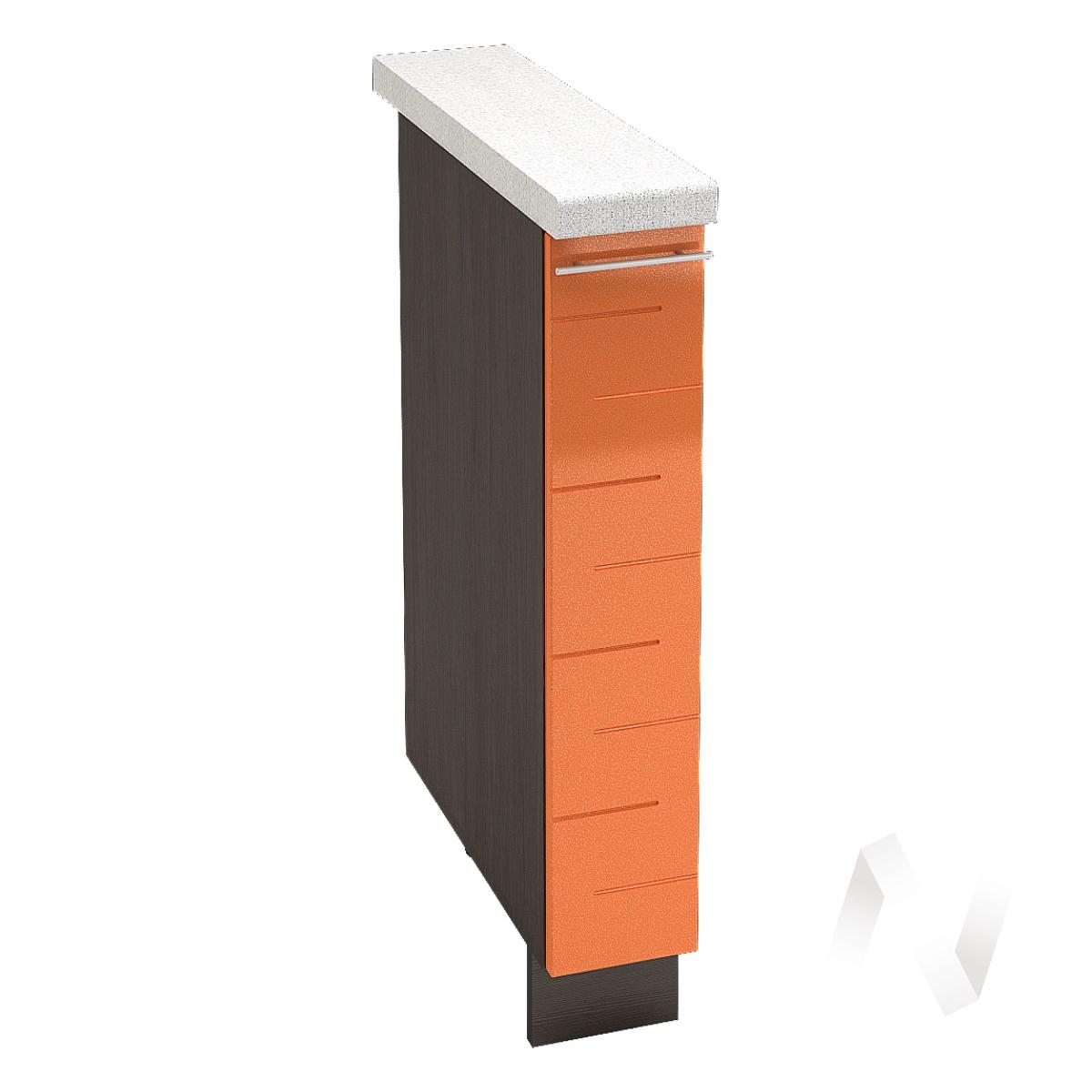 """Купить кухня """"техно"""": шкаф нижний бутылочница 150, шнб 150 (корпус венге) в Новосибирске в интернет-магазине Мебель плюс Техника"""