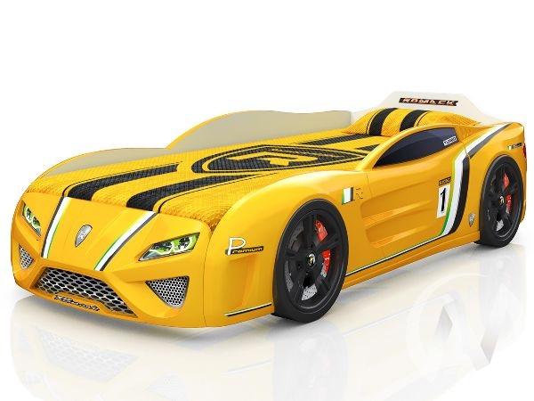 Кровать SportLine (желтый)