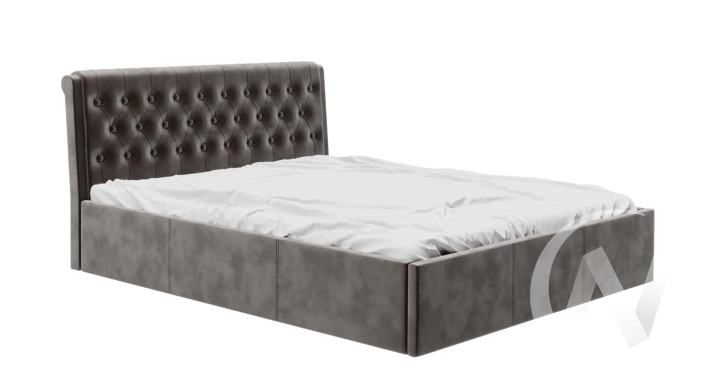 Кровать Дженни 1,4 с подъемным механизмом (вельвет кофе)  в Томске — интернет магазин МИРА-мебель