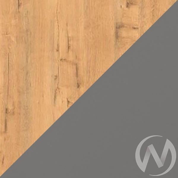 Скай М1 Стол компьютерный (дуб бунратти/графит)  в Томске — интернет магазин МИРА-мебель