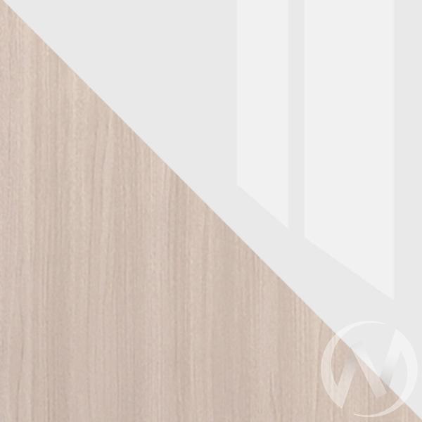 Шкаф-купе Лофт ясень шимо светлый/белый глянец  в Томске — интернет магазин МИРА-мебель