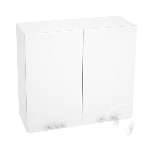 "Кухня ""Валерия-М"": Шкаф верхний 800, ШВ 800 (белый металлик/корпус белый)"