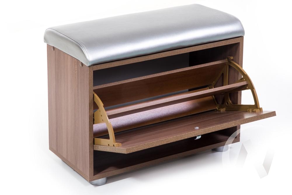 ОБУВНИЦА МС-1 (ШИМО ЯСЕНЬ ТЕМНЫЙ, С.-116)  в Томске — интернет магазин МИРА-мебель