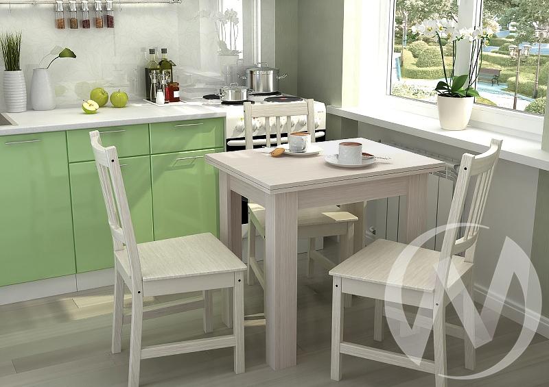 Стол кухонный раскладной (шимо светлый)  в Томске — интернет магазин МИРА-мебель