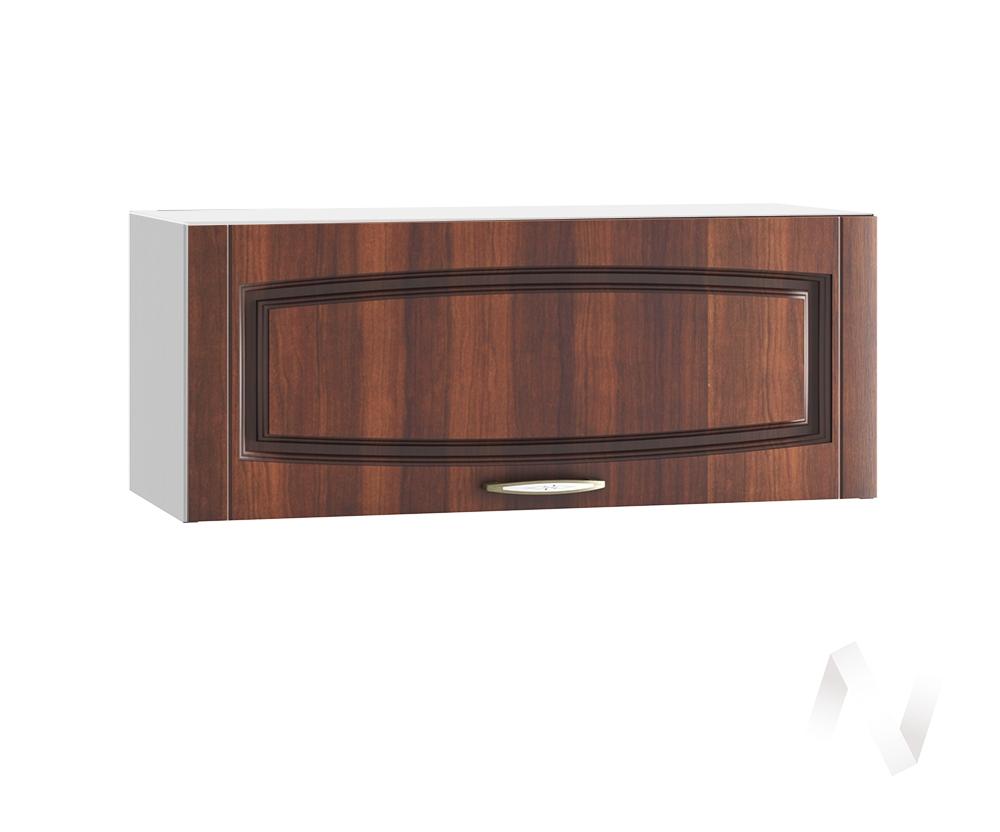 """Кухня """"Неаполь"""": Шкаф верхний горизонтальный 800, ШВГ 800 (Италия/корпус белый)"""
