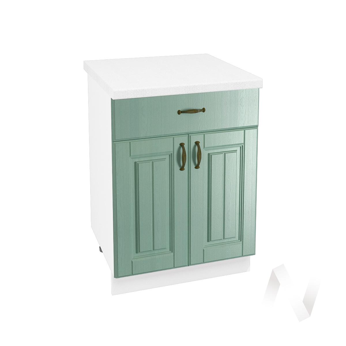 "Кухня ""Прованс"": Шкаф нижний с ящиком 600, ШН1Я 600 М (корпус белый)"
