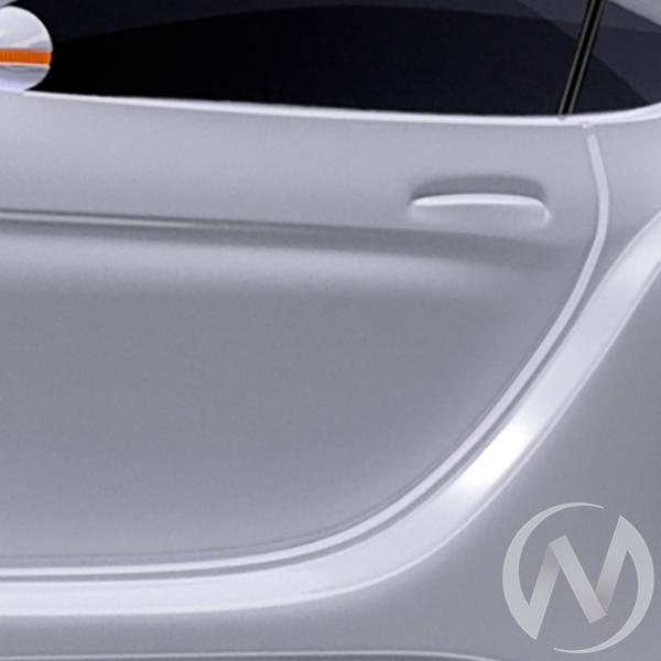 Кровать машинка Junior с матрасом с фирменными полосками и ПМ (белый БМВ) с подсветкой  в Томске — интернет магазин МИРА-мебель