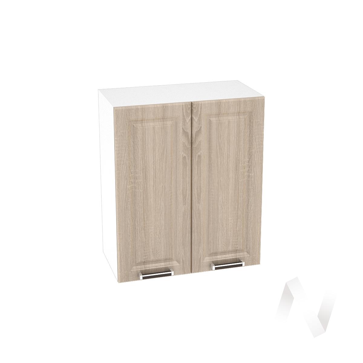 """Купить кухня """"прага"""": шкаф верхний 800, шв 800 (дуб сонома/корпус белый) в Новосибирске в интернет-магазине Мебель плюс Техника"""