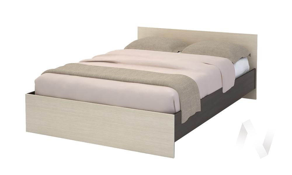 Кровать КР 554 Спальня Бася (венге/белфорт)