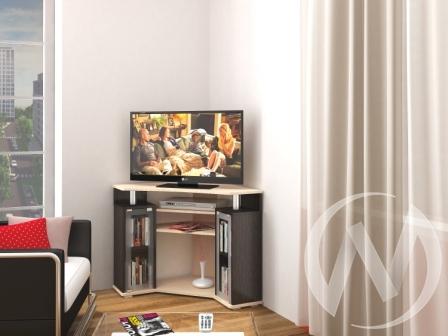 Тумба TV 0442у (венге/дуб молочный)  в Томске — интернет магазин МИРА-мебель