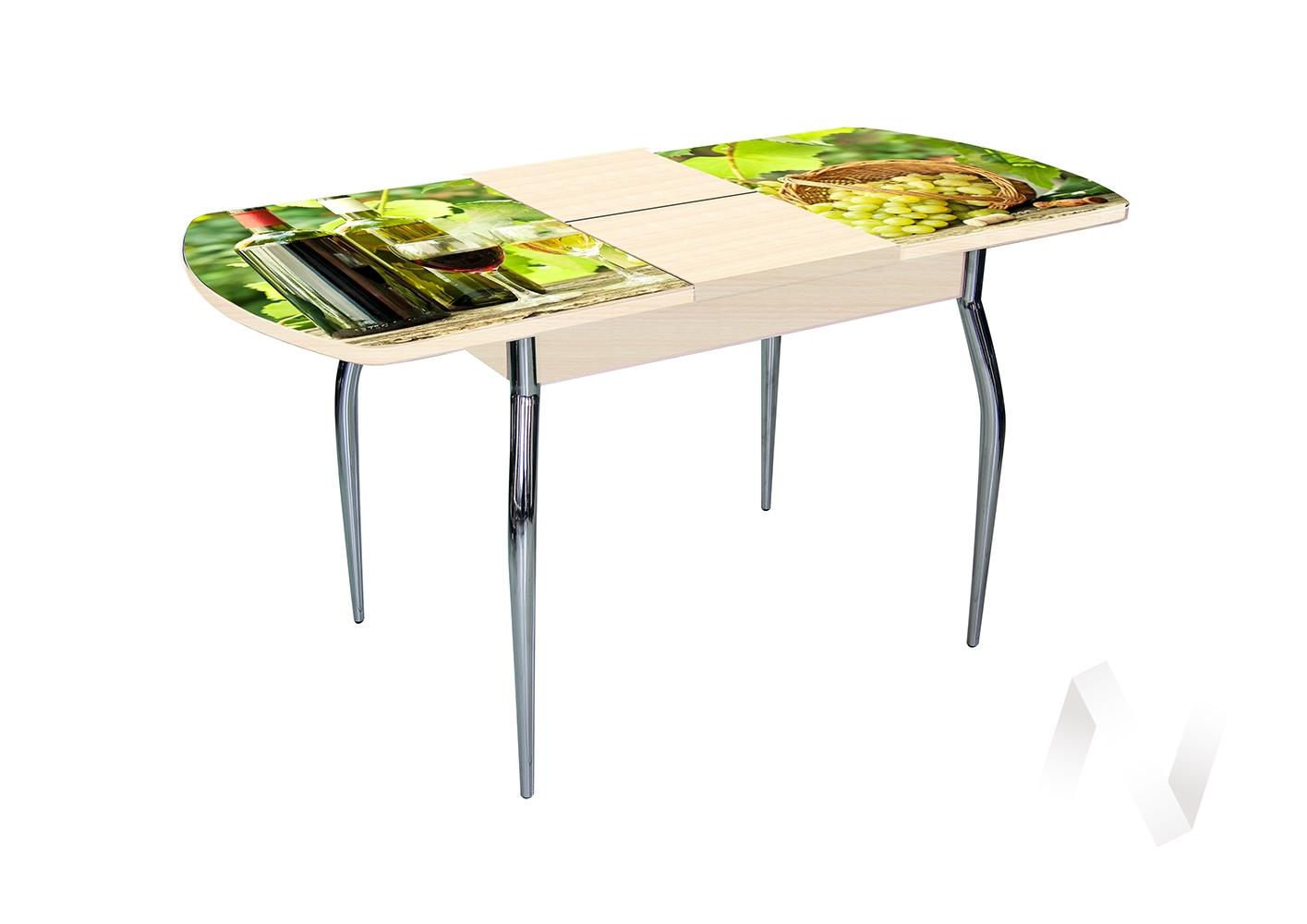 Стол раздвижной Asti-Foto1 (дуб/стекло №11)