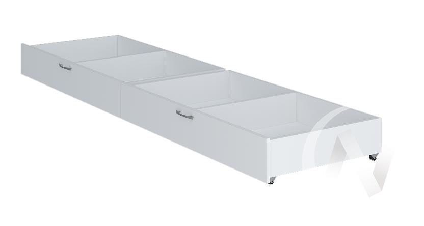 Осло Ящик для кровати 2 шт. (белый)
