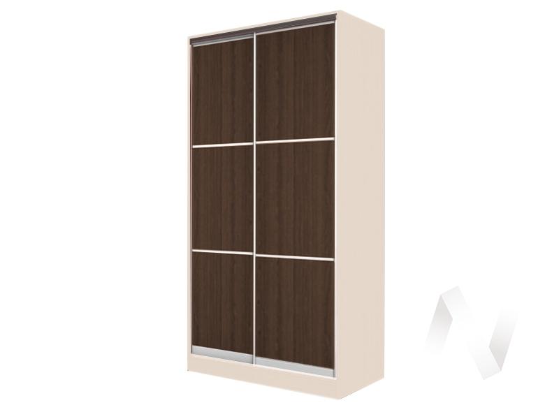 Шкаф-купе «Жаклин» 2-х дверный тройной ЛДСП (дуб сонома/венге)  в Томске — интернет магазин МИРА-мебель