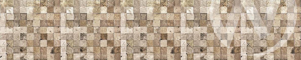 Панель декоративная ХДФ 610*2440*3 Мозаика (2)  фф(307)