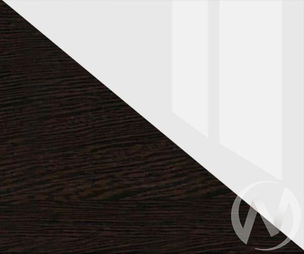 Кровать 1,4 Николь МДФ (венге/белый глянец)  в Томске — интернет магазин МИРА-мебель