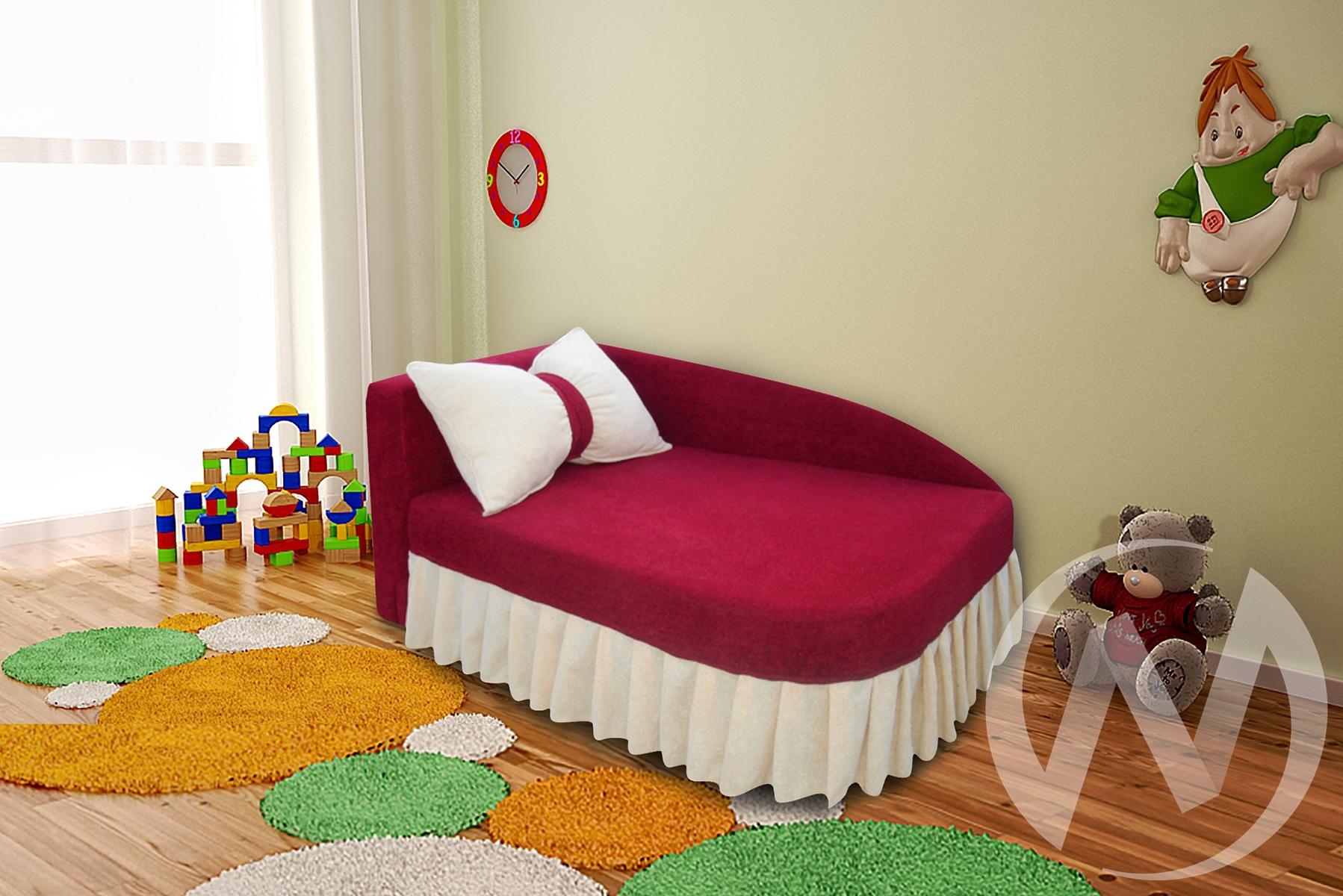 Аленка диван детский левый  в Томске — интернет магазин МИРА-мебель