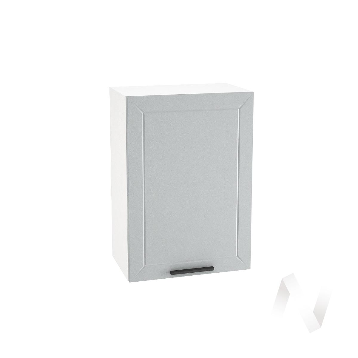 """Кухня """"Глетчер"""": Шкаф верхний 500, ШВ 500 (Гейнсборо Силк/корпус белый)"""