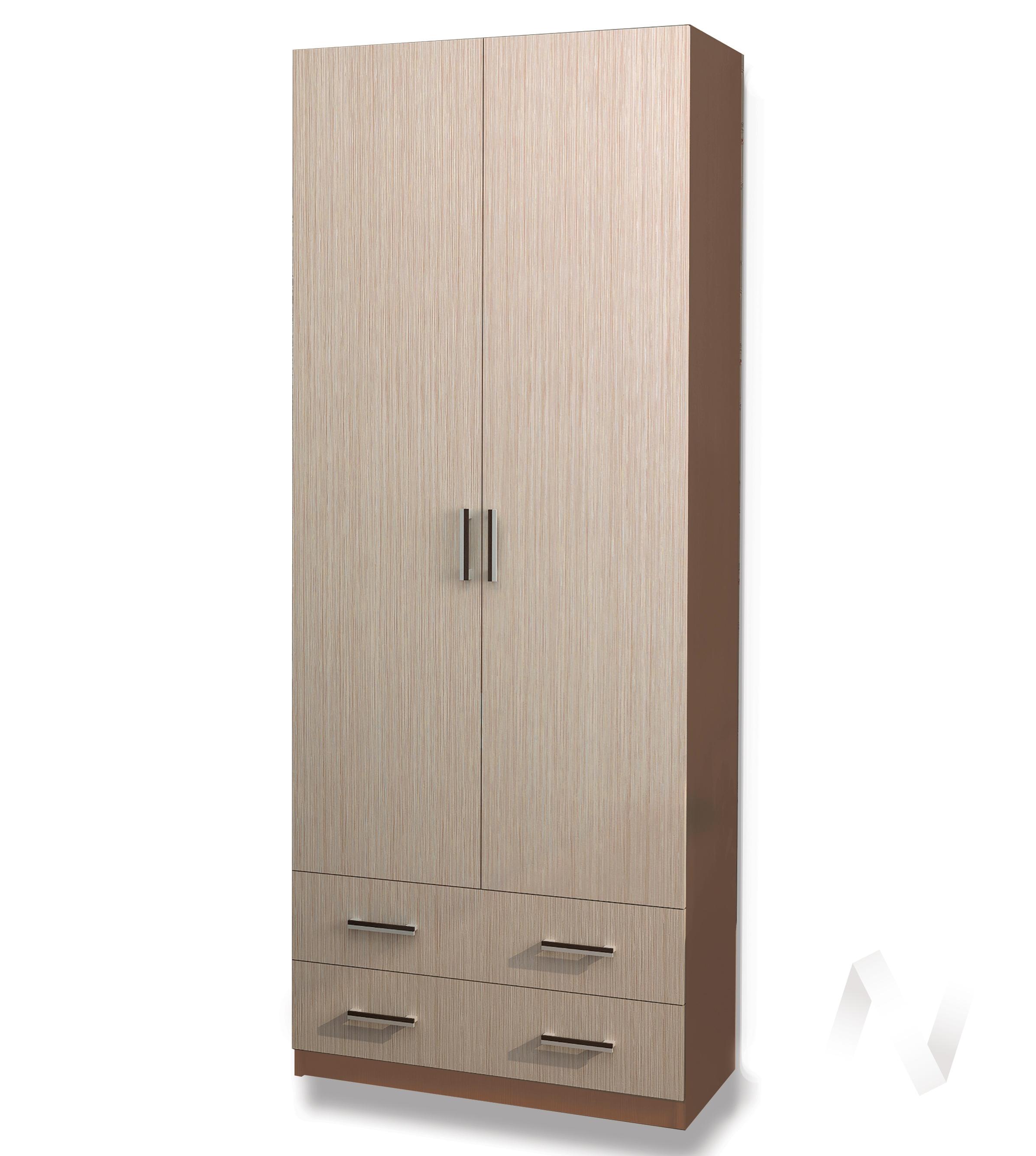 Шкаф Дуэт 2-х створчатый (шимо темный/шимо светлый)  в Томске — интернет магазин МИРА-мебель