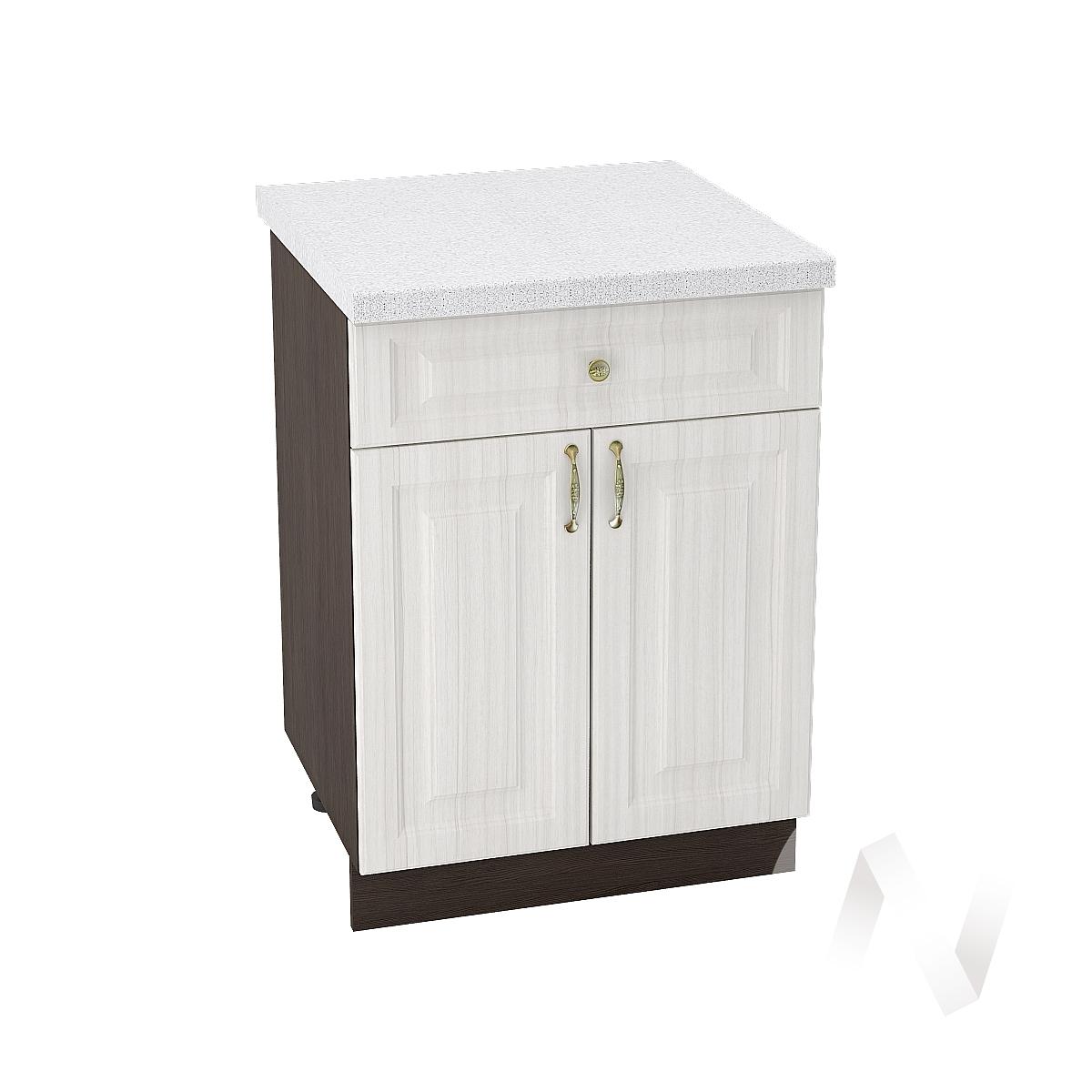 """Кухня """"Виктория"""": Шкаф нижний с ящиком 600, ШН1Я 600 М (корпус венге)"""