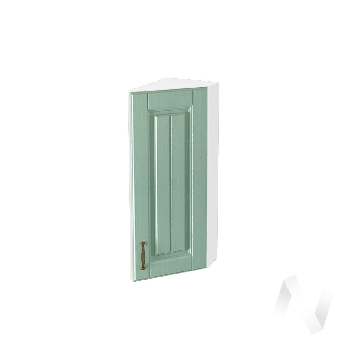 """Кухня """"Прованс"""": Шкаф верхний торцевой 224, ШВТ 224 (корпус белый)"""