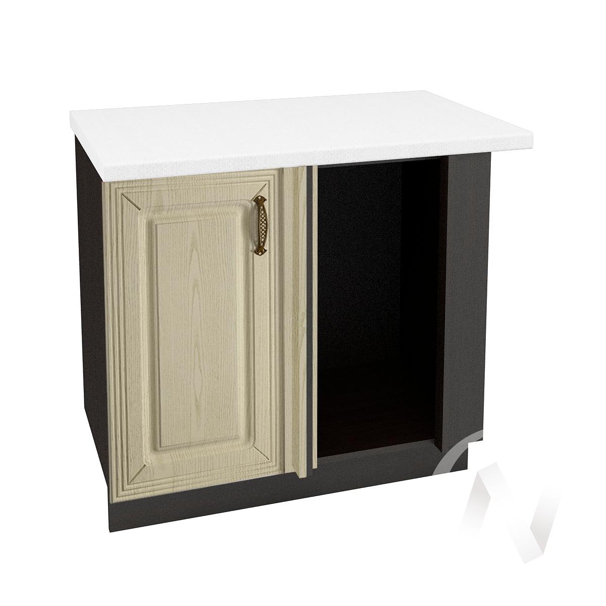 """Кухня """"Изабель"""": Шкаф нижний угловой 990, ШНУ 990 (корпус венге)"""