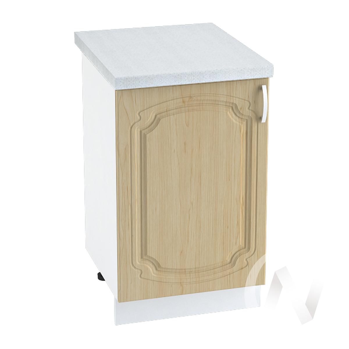 "Кухня ""Настя"": Шкаф нижний 500, ШН 500 (Береза/корпус белый)"