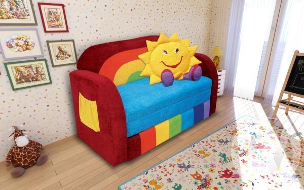 Радуга диван детский