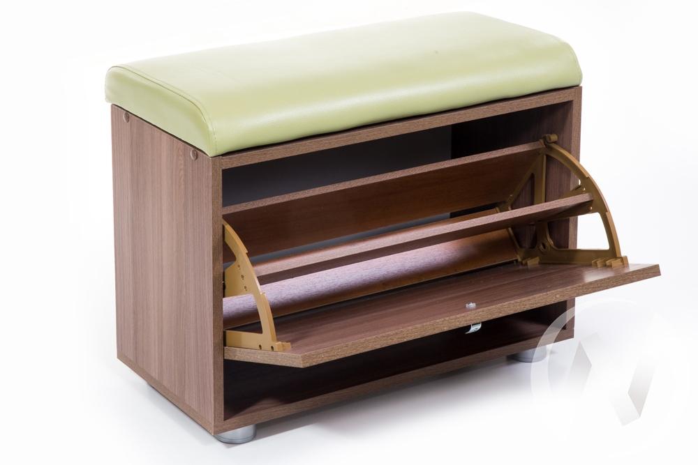 ОБУВНИЦА МС-1 (ШИМО ЯСЕНЬ ТЕМНЫЙ, С.-105)  в Томске — интернет магазин МИРА-мебель