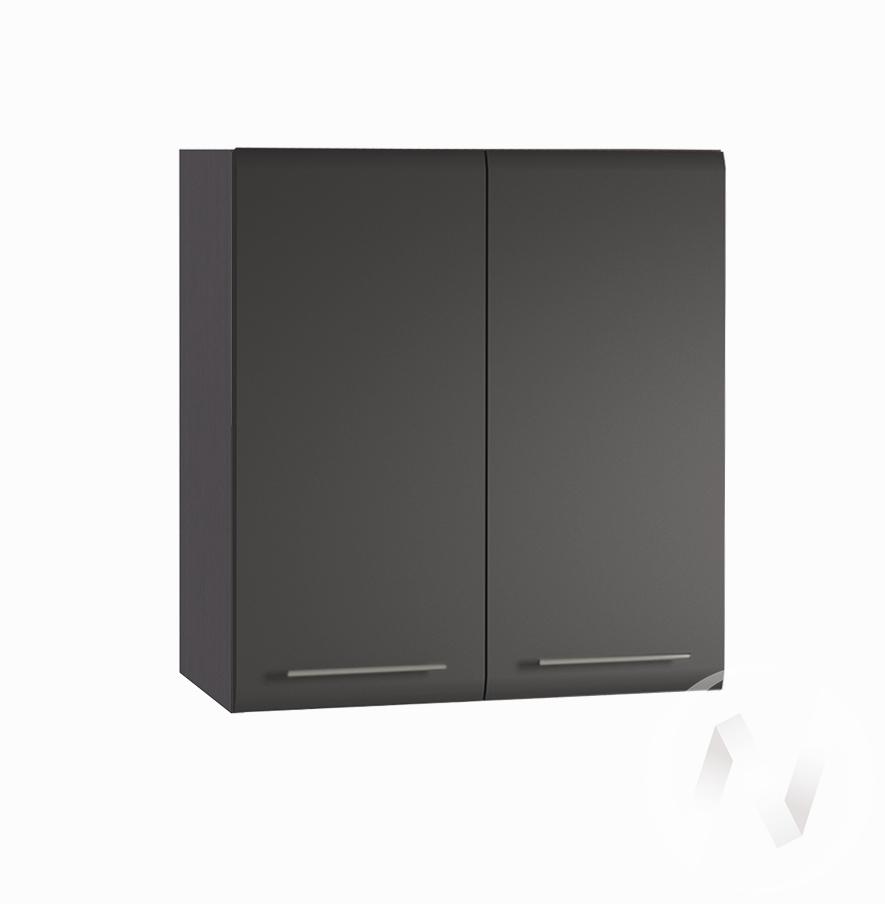 """Кухня """"Люкс"""": Шкаф верхний 600, ШВ 600 (Шелк венге/корпус венге)"""