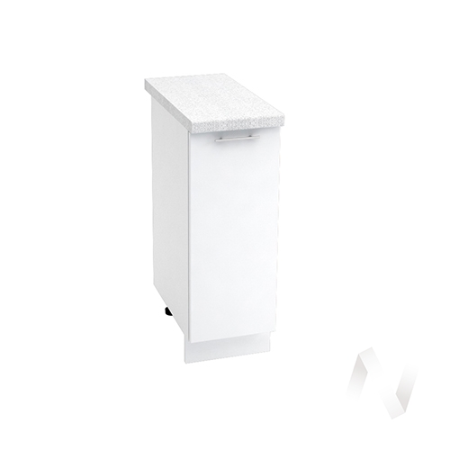 "Кухня ""Валерия-М"": Шкаф нижний 300, ШН 300 (белый глянец/корпус белый)"