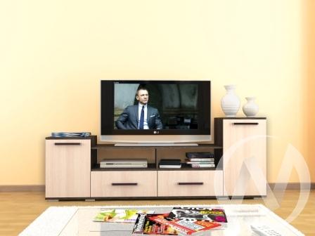 Тумба TV Парус-2 (венге/дуб молочный)