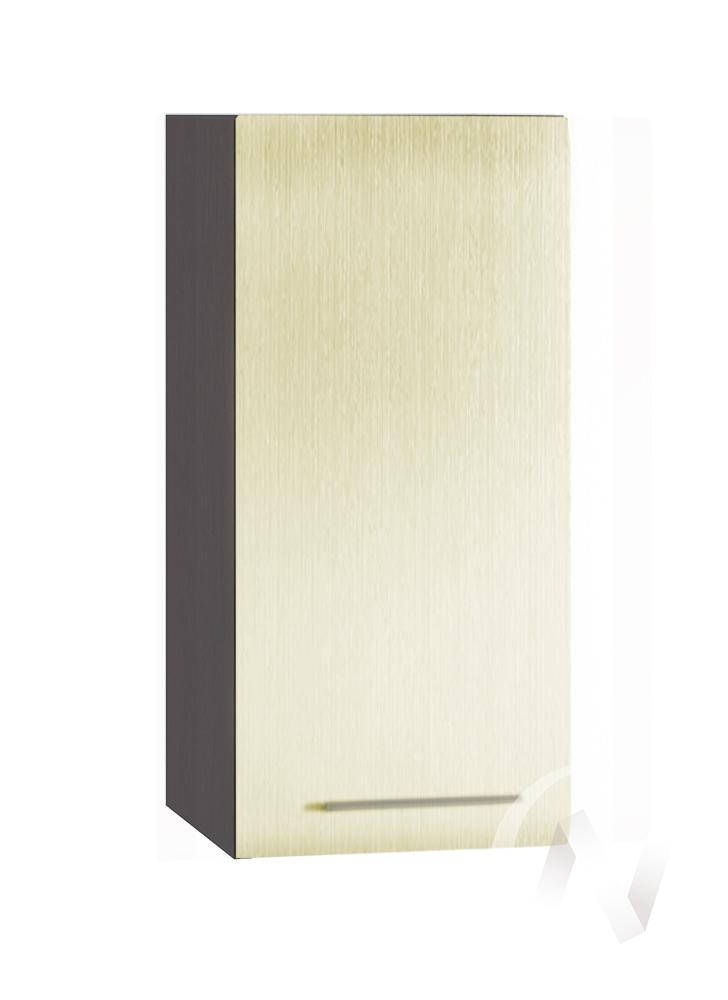 """Кухня """"Люкс"""": Шкаф верхний 300, ШВ 300 (Шелк жемчуг/корпус венге) в Томске — авторская мебель Экостиль"""