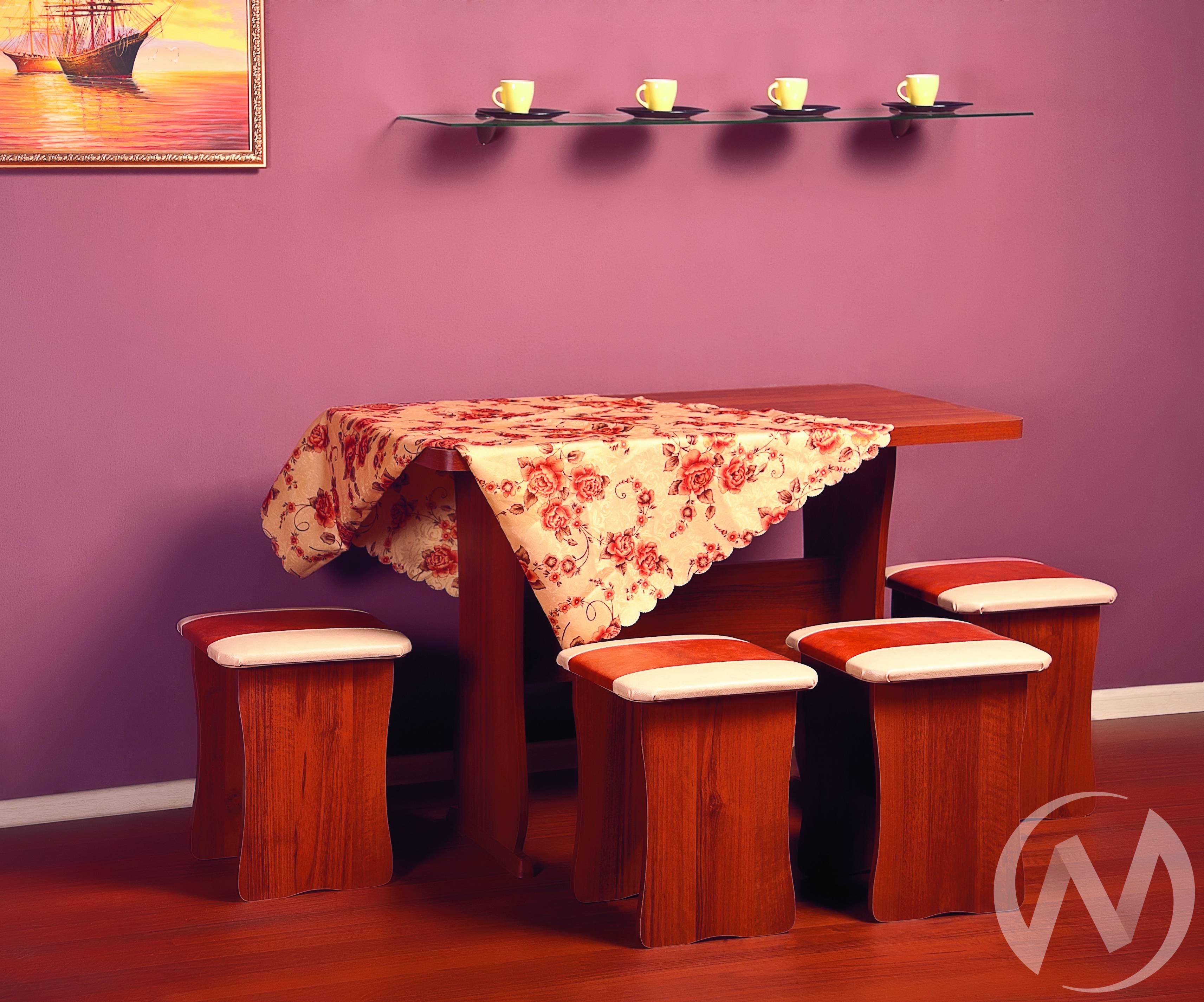 Обеденная группа тип 1 (ольха/рыжий/беж)  в Томске — интернет магазин МИРА-мебель