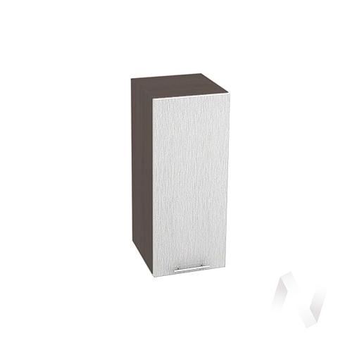 """Кухня """"Валерия-М"""": Шкаф верхний 300, ШВ 300 (дождь серый/корпус венге)"""