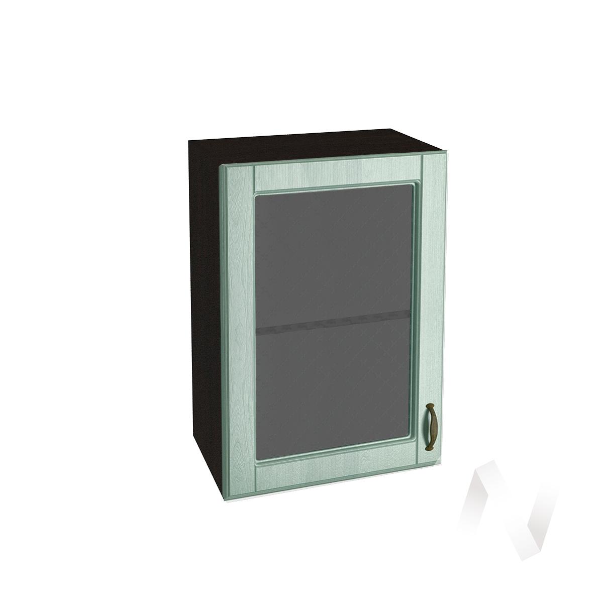 "Кухня ""Прованс"": Шкаф верхний со стеклом 500, ШВС 500 (корпус венге)"