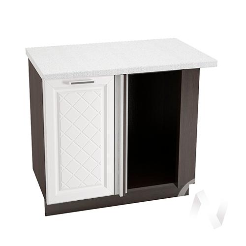 """Кухня """"Вена"""": Шкаф нижний угловой 990, ШНУ 990 (корпус венге)"""