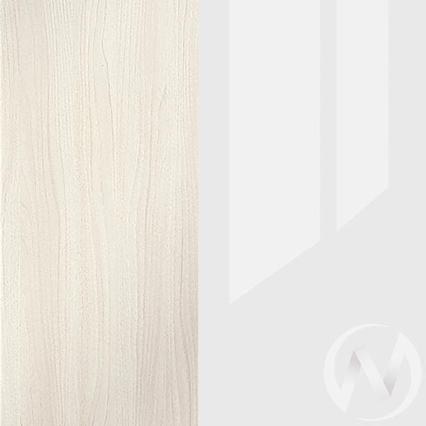Пенал с ящиком Симба (дуб белфорд/белый глянец)  в Томске — интернет магазин МИРА-мебель