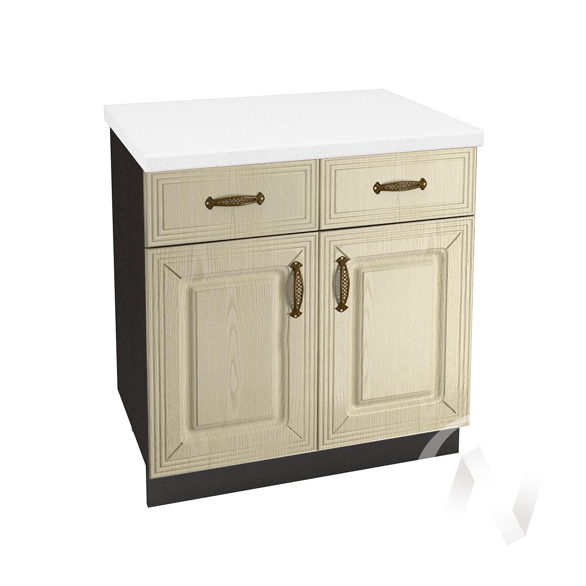 """Кухня """"Изабель"""": Шкаф нижний с ящиками 800, ШН1Я 800 (корпус венге)"""